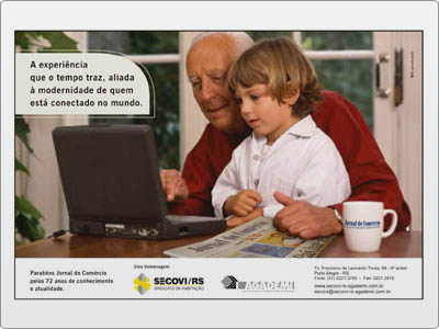 Anúncio, Meia Página, Jornal, Colorido