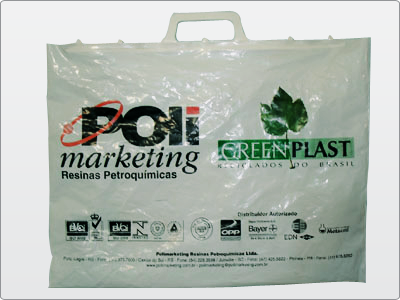 Sacola, Polimarketing e Geenplast