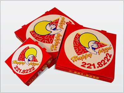 Embalagens de Papelão para Pizza.