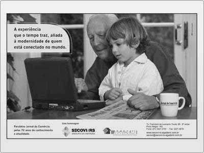 Anúncio, Meia Página, Jornal, PB
