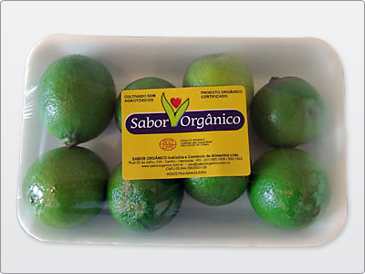 Selo para Embalagem de Isopor, Limão.