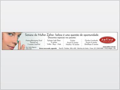 Anúncio ZH, Rodapé
