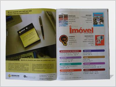 Anúncio, Página, Revista, Colorida