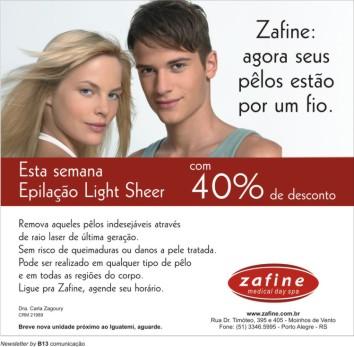 Zafine, Newsletter, Fixa