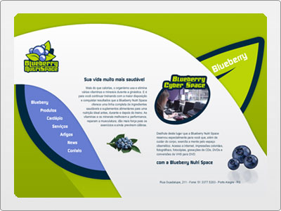 Blueberry Nutri Space, Web, Site