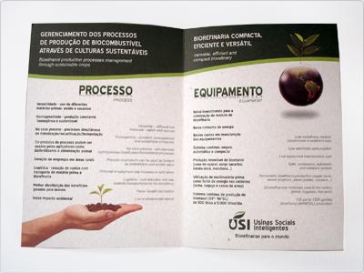 1* Folder, Português, Inglês