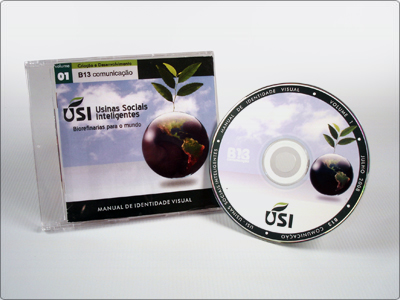 CD, Logotipo, Manual de Identidade Visual