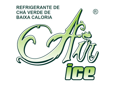 Air Ice, Chá Verde, Logotipo