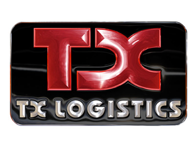 TX Logistics, Logotipo, 2D