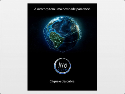 AvaCorp, Newsletter Animada em Flash, Avahelp