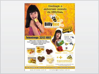BilyBee, Impresso, Folheto