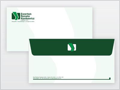Dr Ewerton, Impresso, Envelope Ofício