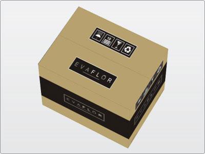 Evaflor, Embalagem 1