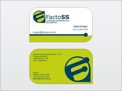 FactoSS, Impresso, Cartão de Visita