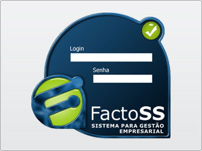 FactoSS, Tela de Sistema 1