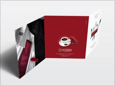 Gecorp, Impresso, Folder Externo
