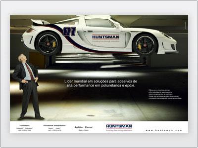 Huntsman, Mídia Impressa, Anúncio, Página Dupla, Revista A&S, N. 02, Arte Final