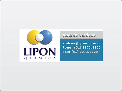 Lipon, Assinatura de E-mail