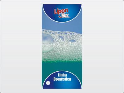 Lipon, Impresso, Catálogo, em Leque, 01 Capa