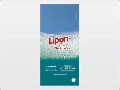 Lipon, Impresso, Catálogo em Leque, 01 Contra Capa