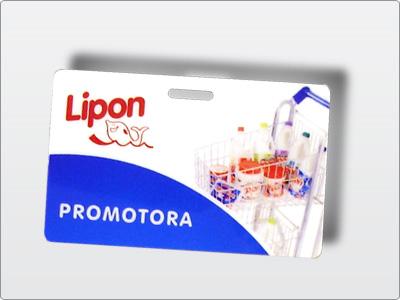 Lipon, Impresso, Cracha