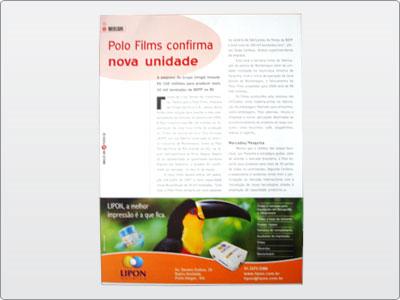 Lipon, Mídia Impressa, Anúncio, Um Terço de Página, Tucano