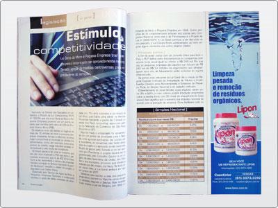 Lipon, Mídia Impressa, Anúncio, Um Terço de Página Vertical, Soda 2