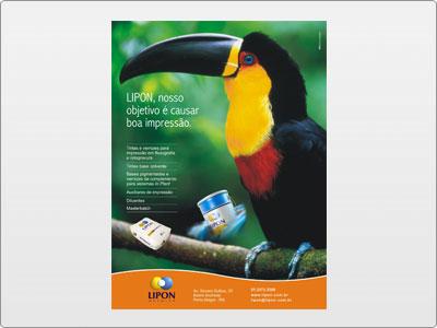 Lipon, Mídia Impressa, Anúncio, Uma Página, Tucano