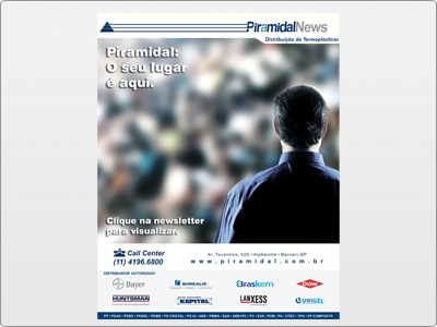 Piramidal, Newsletter Animada em Flash, Cliente Inativo