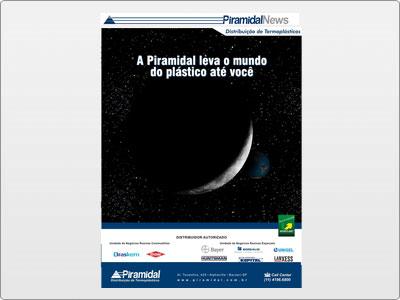 Piramidal, Newsletter Animada em Flash, Espaço