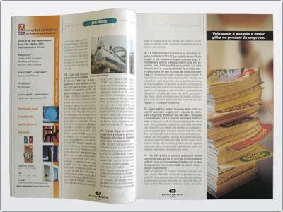 Plásticos Em Revista, Campanha, Mídia Impressa, Anúncio Meia Página 02