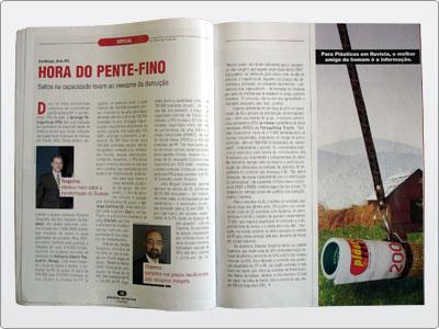 Plásticos Em Revista, Campanha, Mídia Impressa, Anúncio Meia Página 03