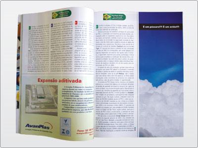 Plásticos Em Revista, Campanha, Mídia Impressa, Anúncio Meia Página 05
