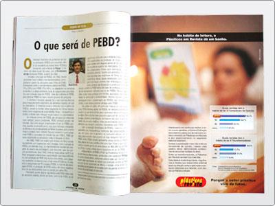 Plásticos Em Revista, Campanha, Mídia Impressa, Anúncio Uma Página 01