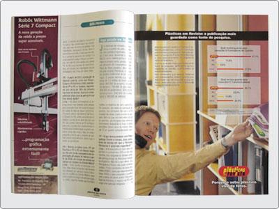 Plásticos Em Revista, Campanha, Mídia Impressa, Anúncio Uma Página 02