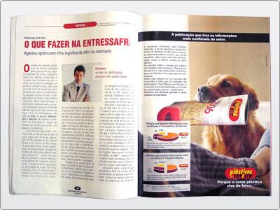 Plásticos Em Revista, Campanha, Mídia Impressa, Anúncio Uma Página 03