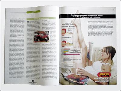 Plásticos Em Revista, Campanha, Mídia Impressa, Anúncio Uma Página 04