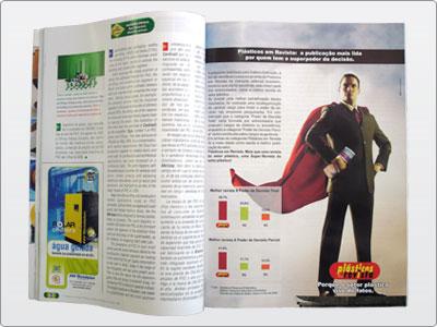 Plásticos Em Revista, Campanha, Mídia Impressa, Anúncio Uma Página 05