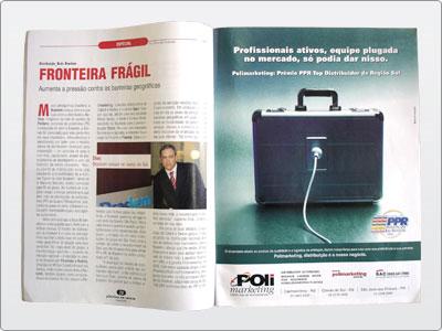 Polimarketing, Mídia impressa, Anúncio Revista, Uma Página 14