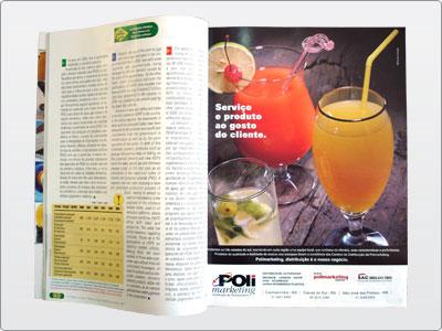 Polimarketing, Mídia impressa, Anúncio Revista, Uma Página 19