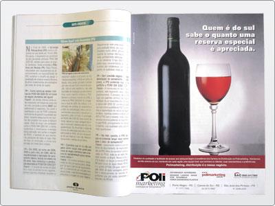 Polimarketing, Mídia impressa, Anúncio Revista, Uma Página 2