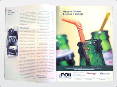 Polimarketing, Mídia impressa, Anúncio Revista, Uma Página 23