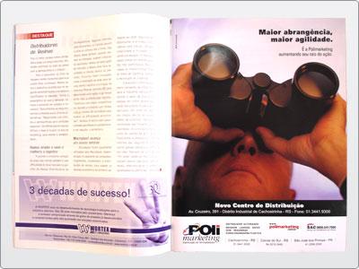 Polimarketing, Mídia impressa, Anúncio Revista, Uma Página 24