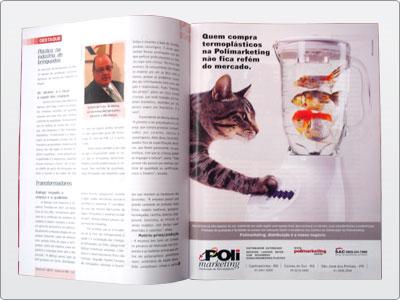 Polimarketing, Mídia impressa, Anúncio Revista, Uma Página 31