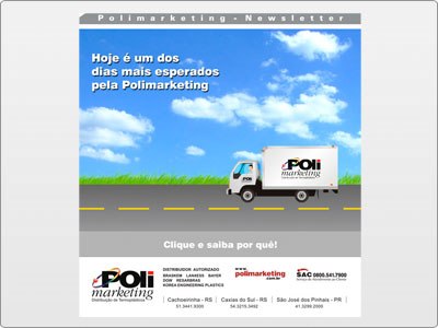 Polimarketing, Newsletter, Estática, Caminhão