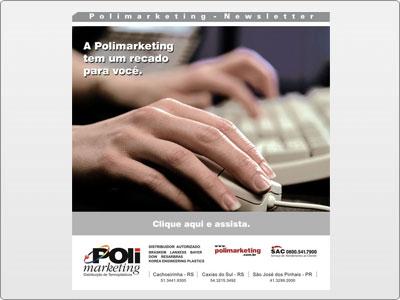 Polimarketing, Newsletter, Interativa, Pesquisa Pós venda