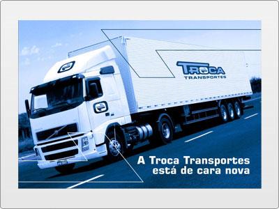 Troca Transportes, Impresso, Postal Frente