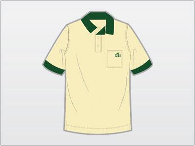 USI, Uniforme, Camisa Polo 4 Frente