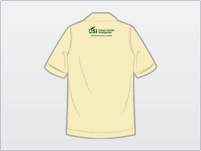 USI, Uniforme, Camisa Polo 5 Verso