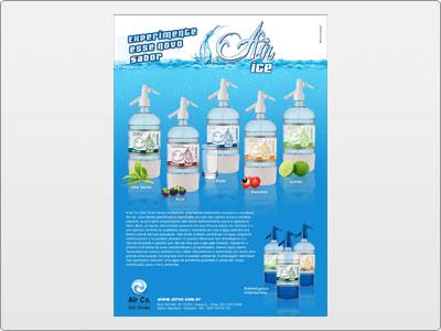 Air Ice, Impresso, Folheto